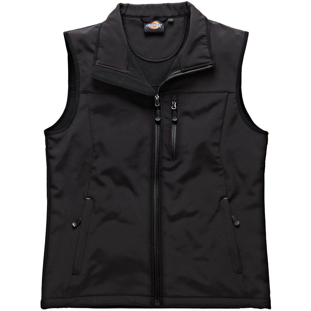 Dickies Kenton Softshell Weste schwarz BK 3XL BW7001