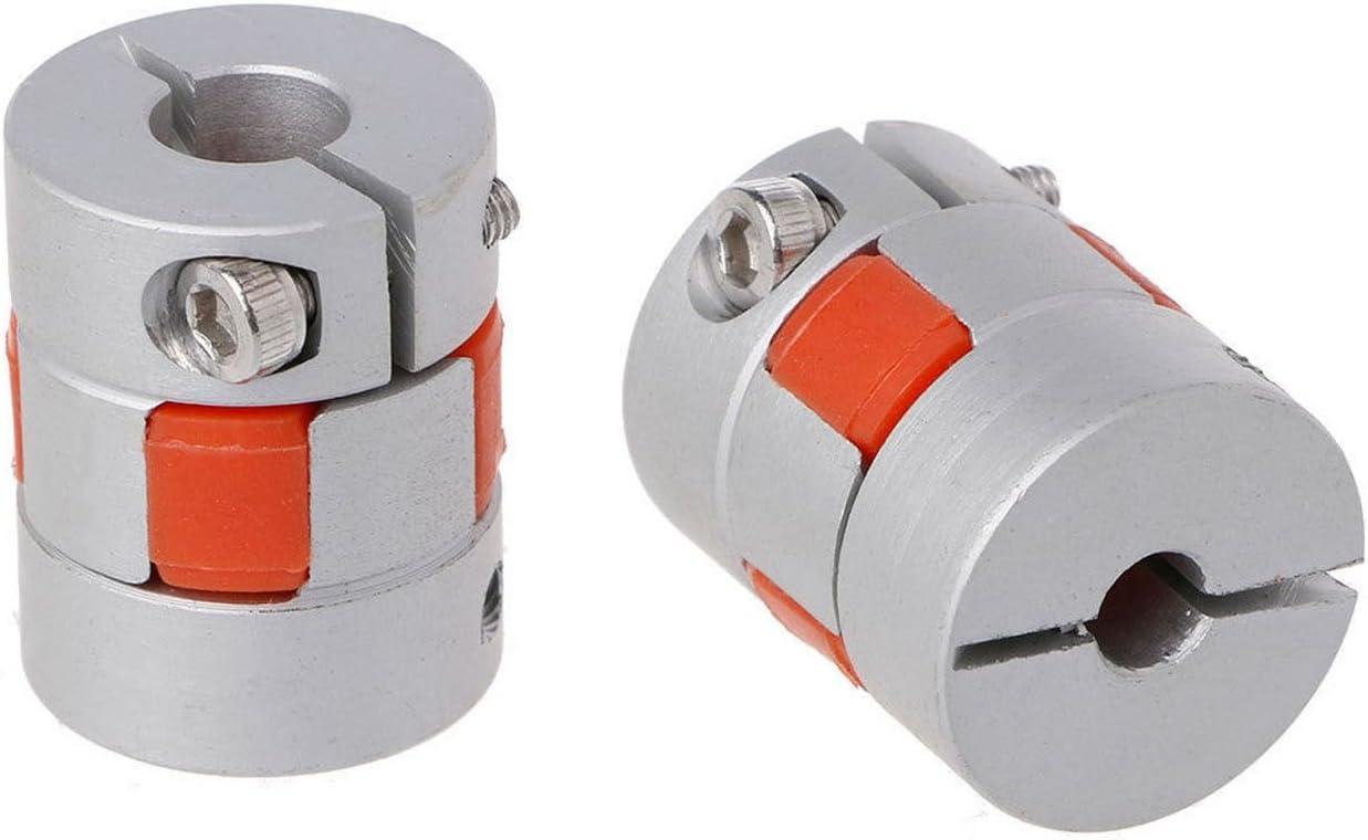 Cikuso 5mmx8mmx25mm CNC Moteur pas a pas Coupleur flexible a accouplement prune Coupleur Coupleur darbre nouveau