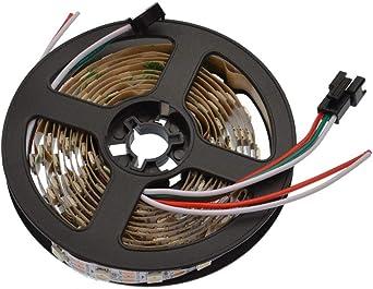 144 LED//m 5V Bandeau strip IP30 IP65 Arduino 60 Ruban LED WS2812 pixel RGB 30