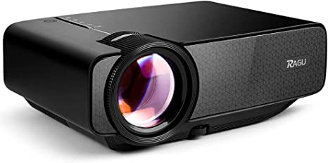Ragu Z400 LED proyector Mini proyector de vídeo Home, Apoyo 1080P ...