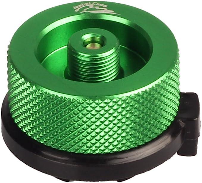 Aluminiumlegierung CHENSTAR Gasflaschenadapter Zubeh/ör Konverter-Anschl/üsse Gaslaterne Campingherd-Adapter Zylinder-Splitter
