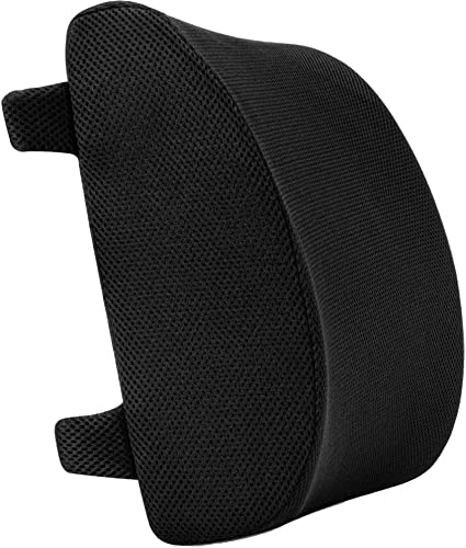 anzhixiu Supportive Memory Foam Lumbar Support Pillow