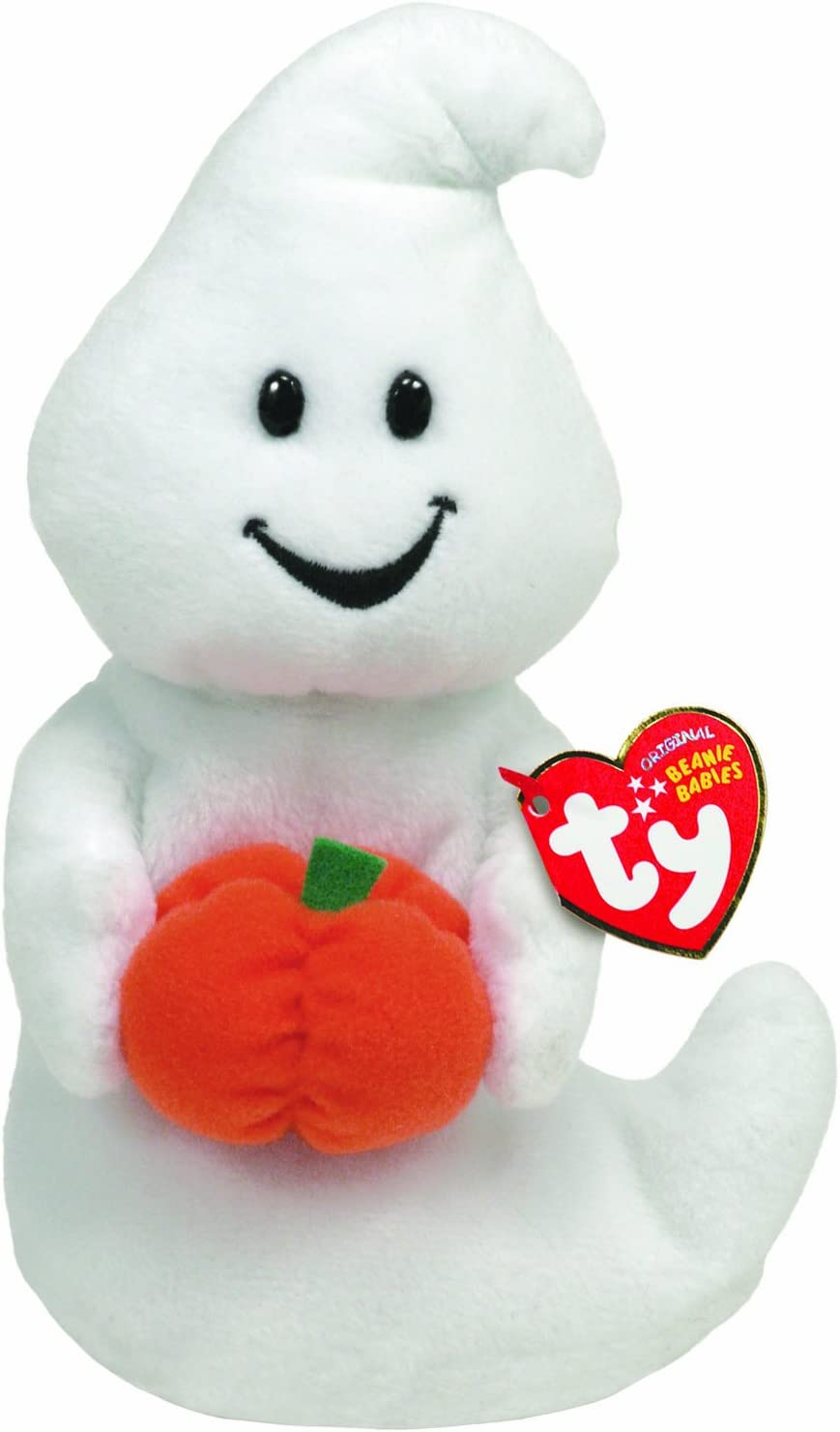 the Halloween Ghost Ty Beanie Baby GHOULISH