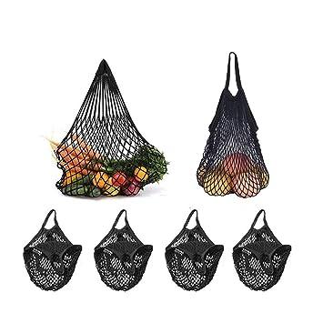 Wiederverwendbare String Einkaufen-Einkaufstasche Mesh Net Cotton Handtasche