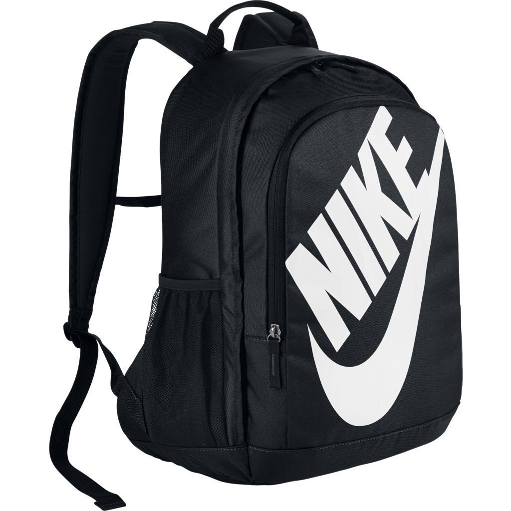 Nike Sportswear Hayward Futura Backpack for Men, Large Backpack with Durable Polyester Shell and Padded Shoulder Straps, Black/Black/White by Nike
