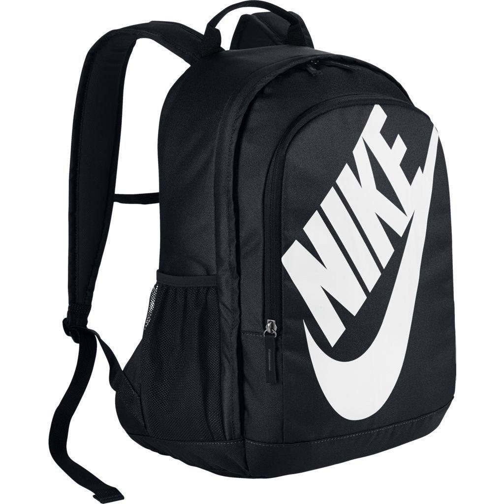 NIKE Sportswear Hayward Futura Backpack, Black/Black/White, One Size