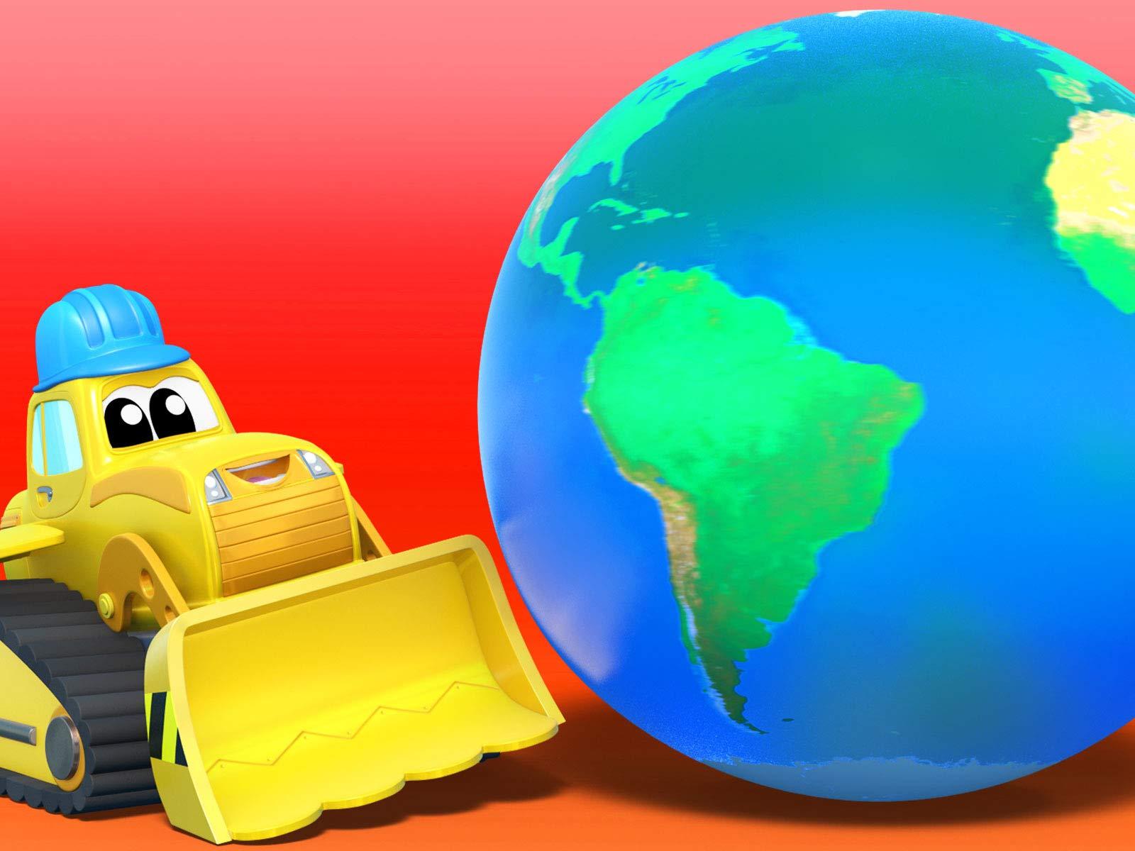 Amazon.com: Super Truck - Carl the Transformer: Edouard ...