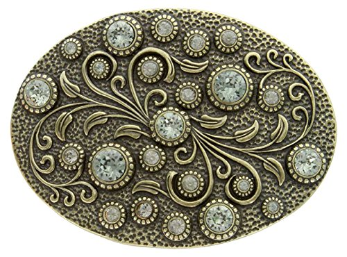 Antique Engraved Crystal Rhinestone Multiple product image