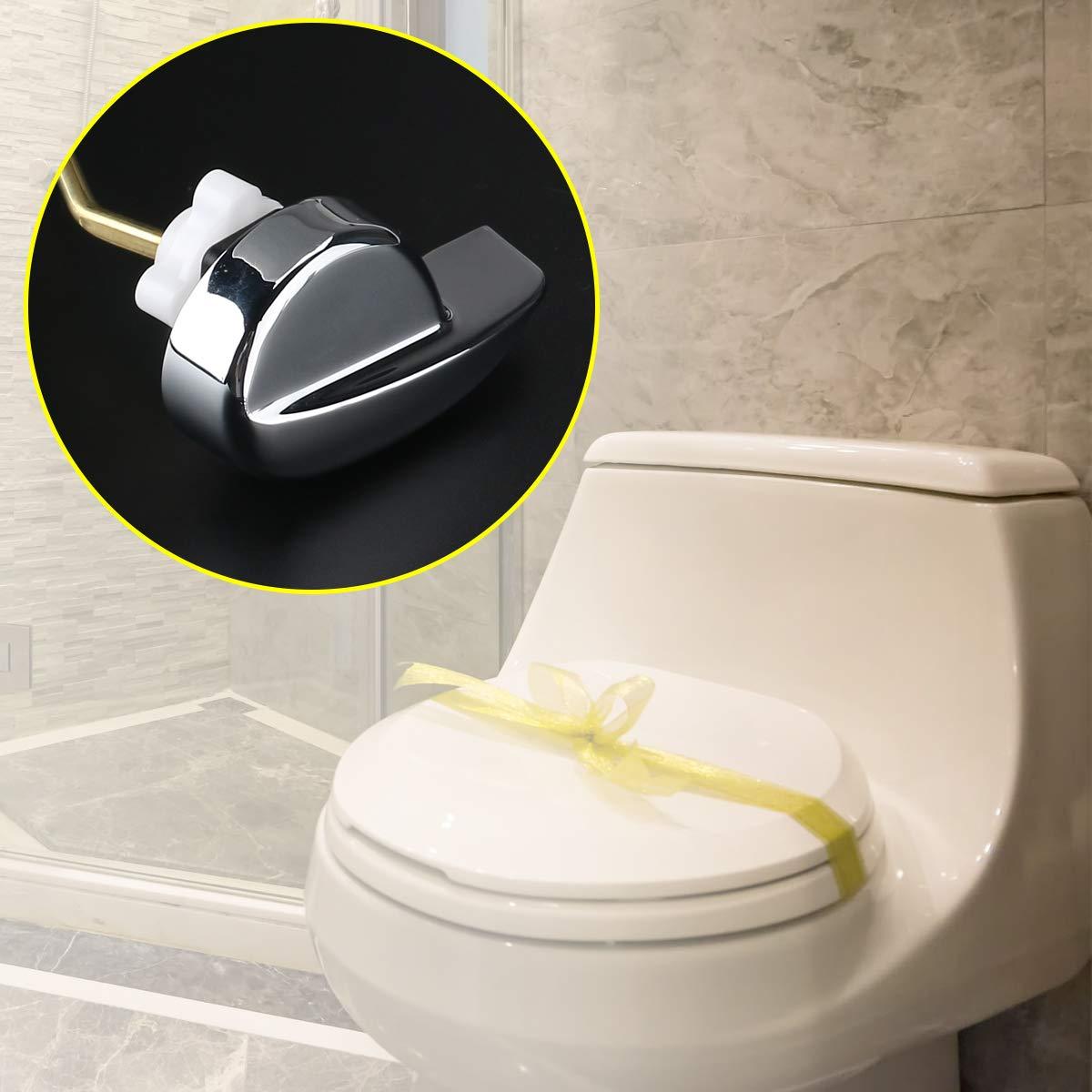 OULII Side Mount Toilet flush Lever Handle for TOTO Kohler Toilet ...