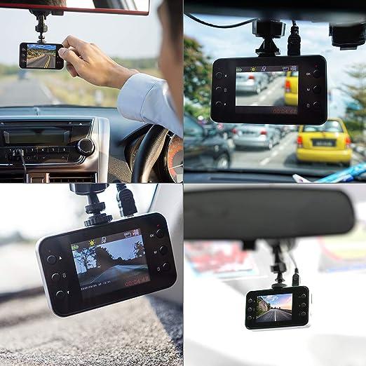 Kawkaw Mini Hd Dascham Fürs Auto Mit Nachtsicht Elektronik