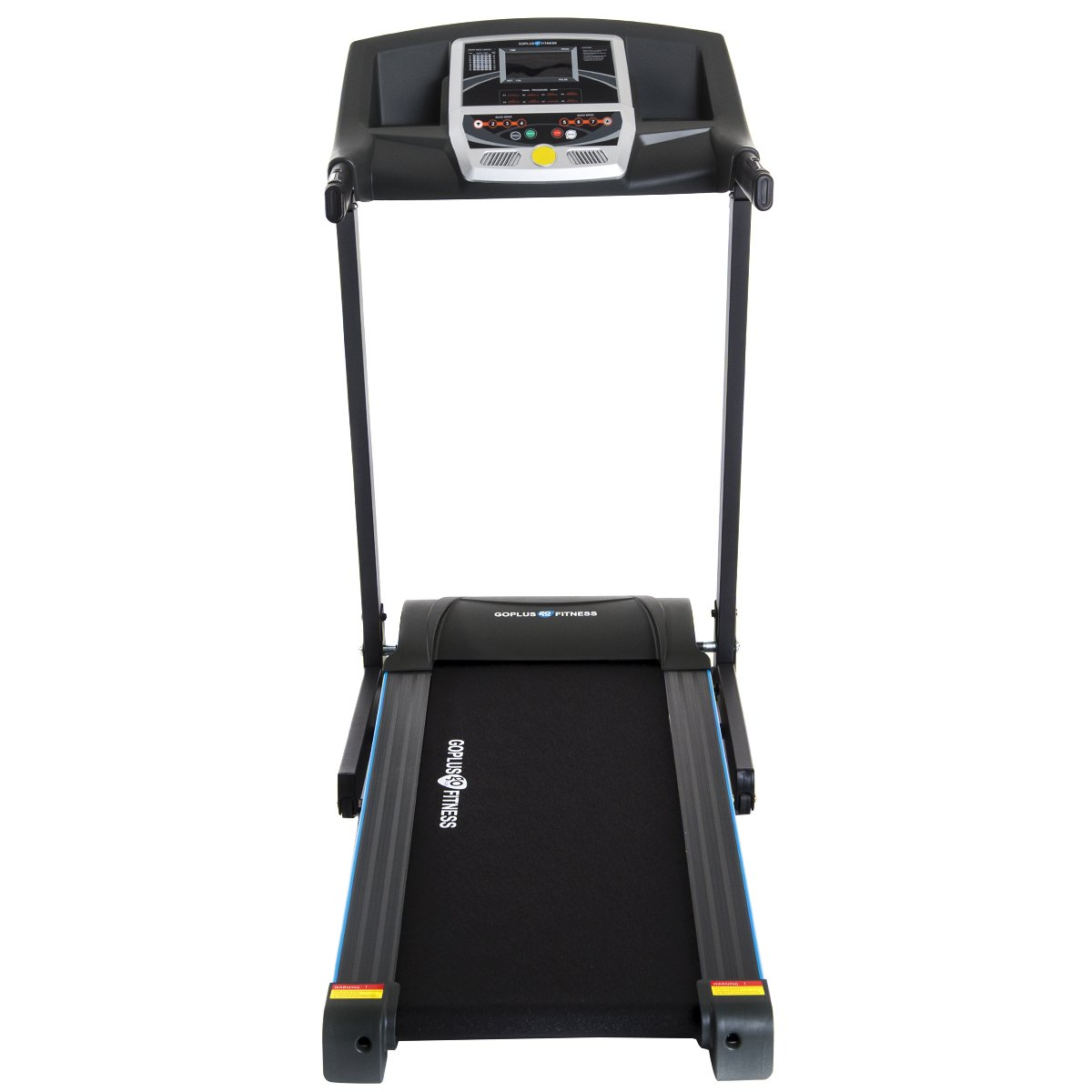 Goplus 2.25HP Folding Treadmill Electric Support Motorized Power Running Fitness Jogging Incline Machine g Fitness Jogging Incline Machine Fitness Jogging Incline Machine Black Jaguar Ⅱ(Classic) by Goplus (Image #9)