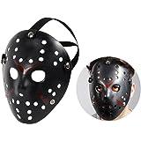 Totenkopfmaske Vendetta Maske Karneval Saw Fasching Maske Blue Mask Kostüme Geist, wählen:Mas-65 Jason Maske schwarz