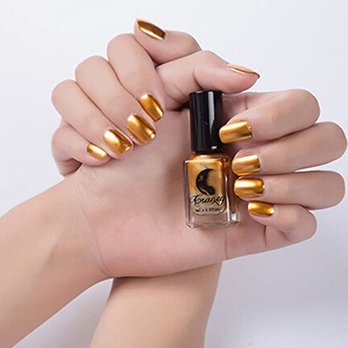 esmalte de uñas semipermanente cnd BBsmile Espejo Glitter Aluminium ...
