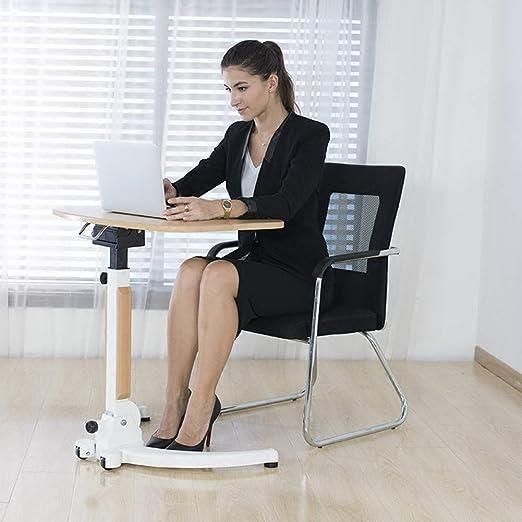 Mesa de perezoso portátil ajustable Soporte de escritorio Bandeja ...