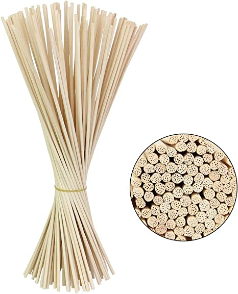 100x Oil Diffuser Rattan Sticks Replacement Aromatherapy Fragrance Essential