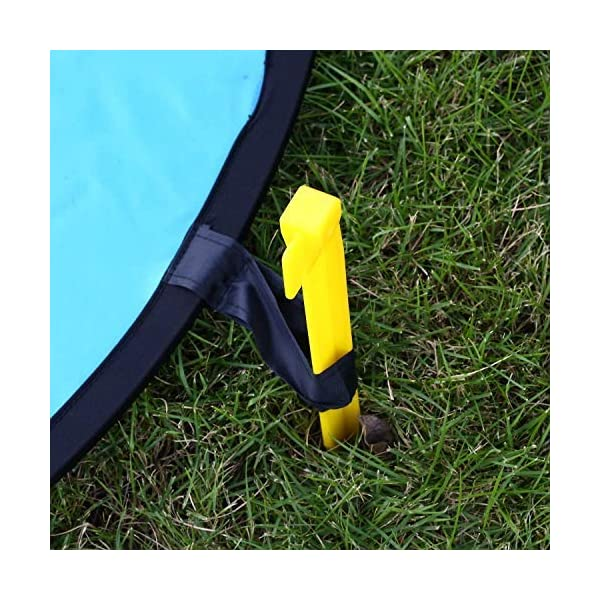 KINGWON 55cm Drone Landing Pad Pieghevole Impermeabile pour DJI Mavic PRO, DJI Mavic Air, DJI Spark, DJI Tello,diamètre de 21,65 pouces 5 spesavip