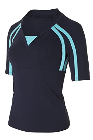 eafbb2fe7b Naffta Tenis Padel - Camiseta de Manga Larga para Mujer  Amazon.es   Deportes y aire libre