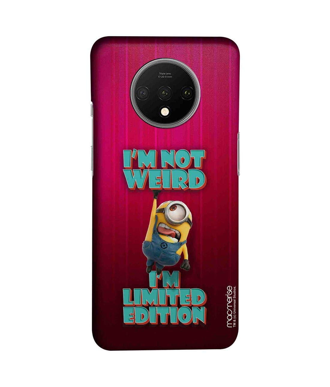 Macmerise Oneplus 7t Back Cover Case Limited Edition Amazon In Electronics