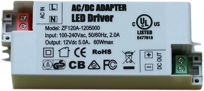 LED Transformator 230V auf 12V//24V Treiber Driver Trafo Vorschaltgerät 6W 60W