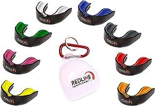 Redline Sportswear - Redline Sport Custom Fit Mouthguard w/Case Ventilé - Protection pour Tous Les Sports de Contact - Scosh Enterprises