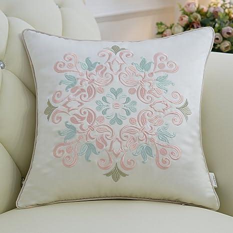 Funda de almohada decorativa Almohada europea de cabecera ...