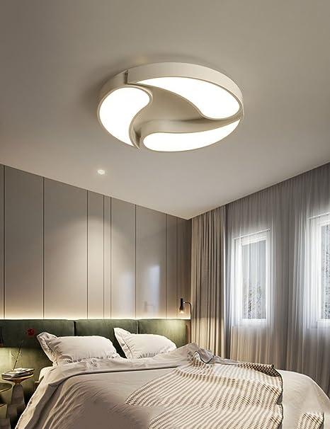 DIDIDD Plafoniera moderna moderna lampada ad alta trasmittanza ...