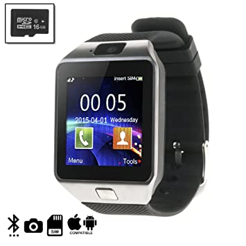 DAM DMIOSN235SD16 - Smartwatch Ártemis BT Compatible con iOS ...