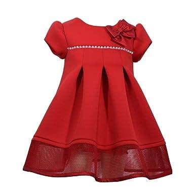 Festliches kleid rot madchen