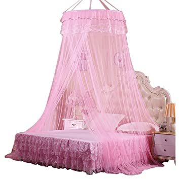 Mosquito Net Bed Canopy Rusee Lace Dome Netting Bedding Double Bed Conical Curtains Fly Screen  sc 1 st  Amazon.com & Amazon.com: Mosquito Net Bed Canopy Rusee Lace Dome Netting ...