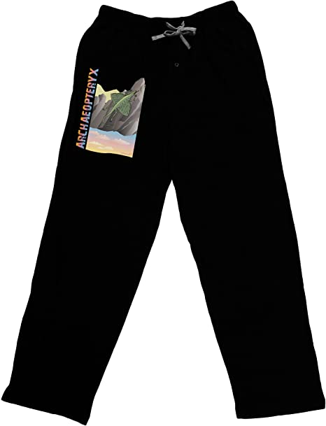 with Name Adult Lounge Pants TooLoud Archaopteryx