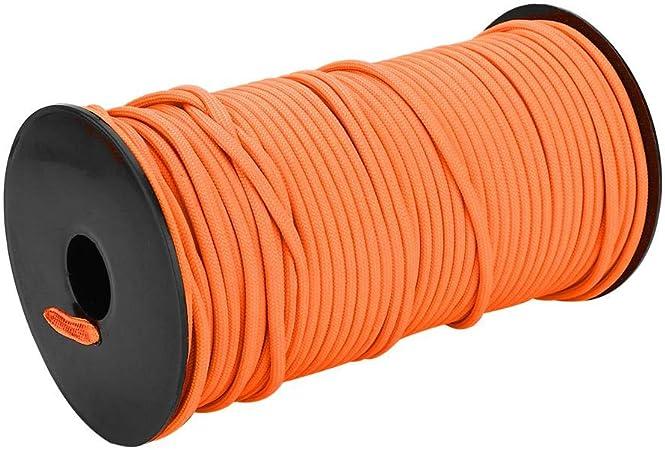 Cuerda Multiusos 100 m 9 filamentos Duradero Resistente para Cuerda de Escalada Cordón Línea de Tela