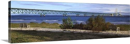 Suspension Bridge Across a Strait