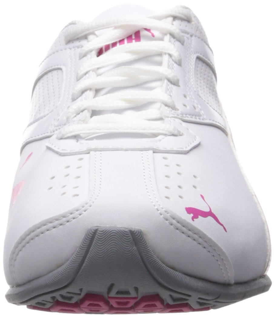 PUMA Women's Tazon 6 WN's fm Cross-Trainer Shoe, White/Fuchsia Purple Silver, 6.5 M US by PUMA (Image #4)