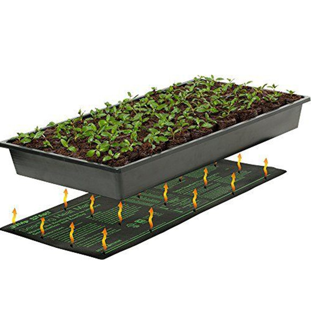 Seedling Heat Mat,Hydroponic Seed Reptile Plant Starter Warmer for Propagation Cloning Garden Supplies 10