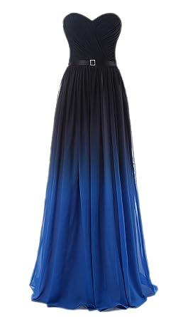b0750c44537 Amazon.com  Anna s Bridal Women s Rainbow Prom Dresses Long Evening ...
