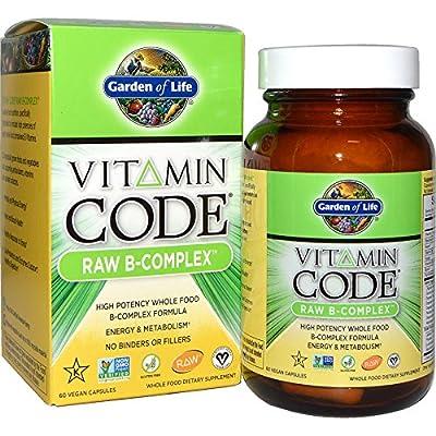 Garden of Life, Vitamin Code, Raw B-Complex, 60 Vegan Caps