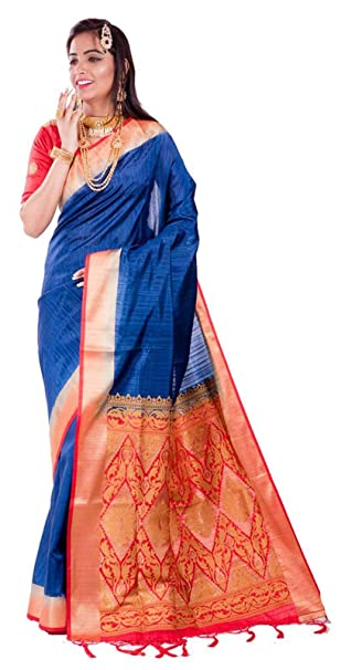 Advika Silk Arni Silk Saree (Krmarketing-S4717_Blue And