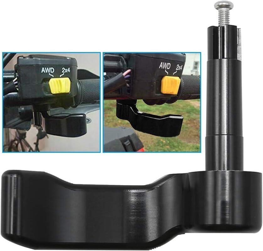 Polaris Scrambler 550//850// 1000 CNC Aluminum Thumb Throttle Lever Replacement for 2009-2018 Polaris Sportsman 550//570// 850//1000