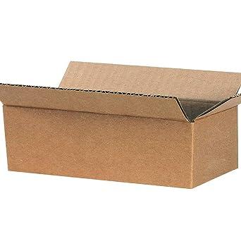Amazon.com: Caja de cartón Kraft para envíos de 7 x 5 x 3 ...