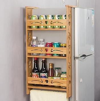 Side Storage Rack Kuhlschrank Hangeschrank Kuchenschrank