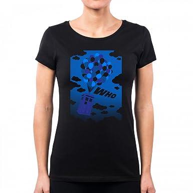 Pacdesign T Shirt Damen Up Who Serie Tv Geek Funny Tv Series Film