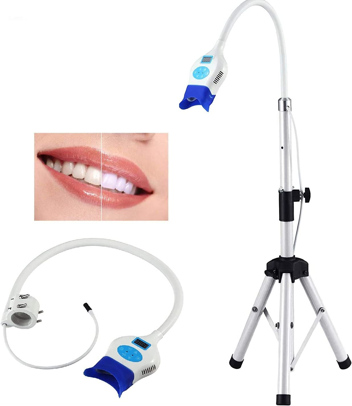Amazon Com Superdental New Teeth Whitening Bleaching Mobile Led