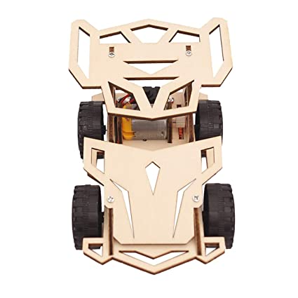 Amazoncom Stobok Electric Wooden Racing Construction Kit Diy Model