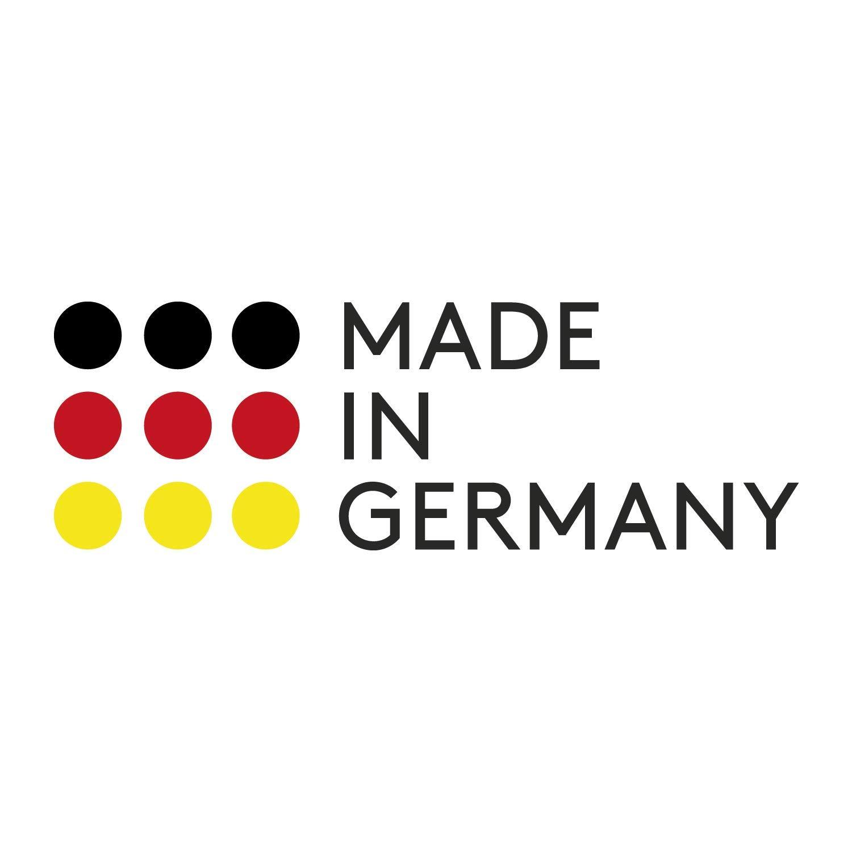keramisch hoch verst/ärkt Made in Germany antihaft-beschichtet Guss-Grillpfanne 24 x 24 cm mit abnehmbarem Griff eckig skk 2424 Titanium 2000 Plus