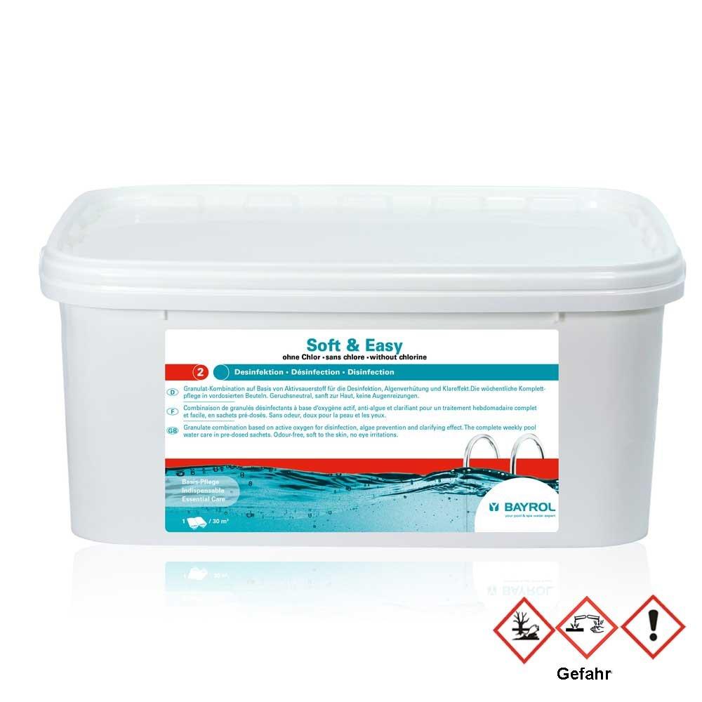 Bayrol Soft & Easy 2.24kg–Chlorine Free Complete Care for Pool