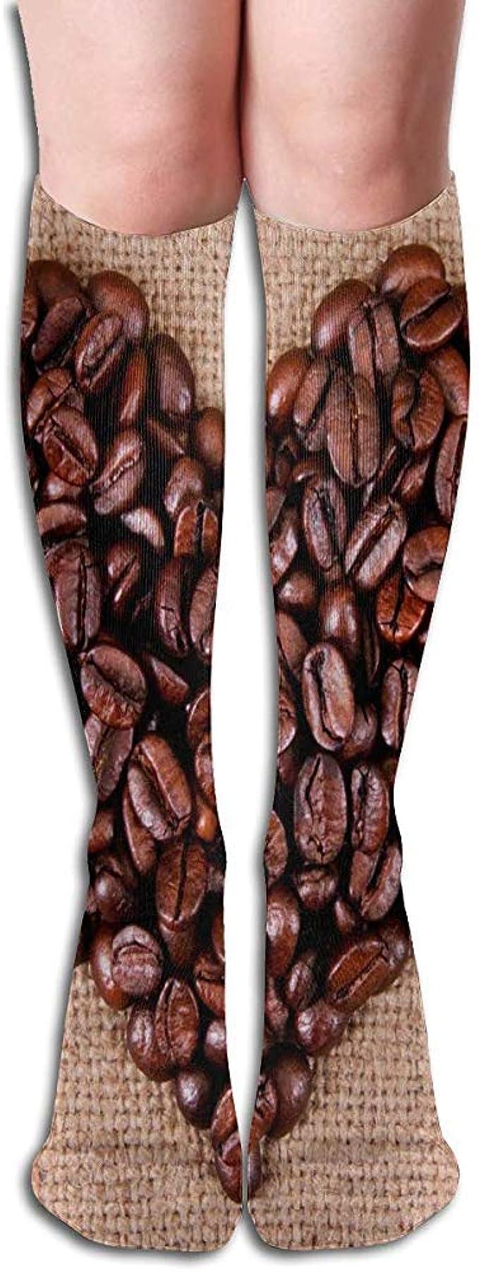 Not Applicable Medias De Compresión Coffee Bean Love Heart ...