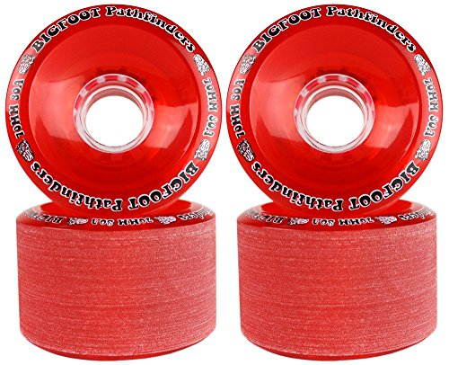 Bigfoot Freeride Longboard Wheels Stoneground Pathfinders