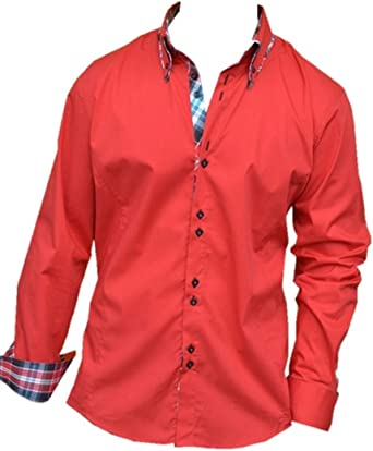 CARISMA CRMH-110 - Camisa de diseño, 17 colores rojo XXXXXL ...
