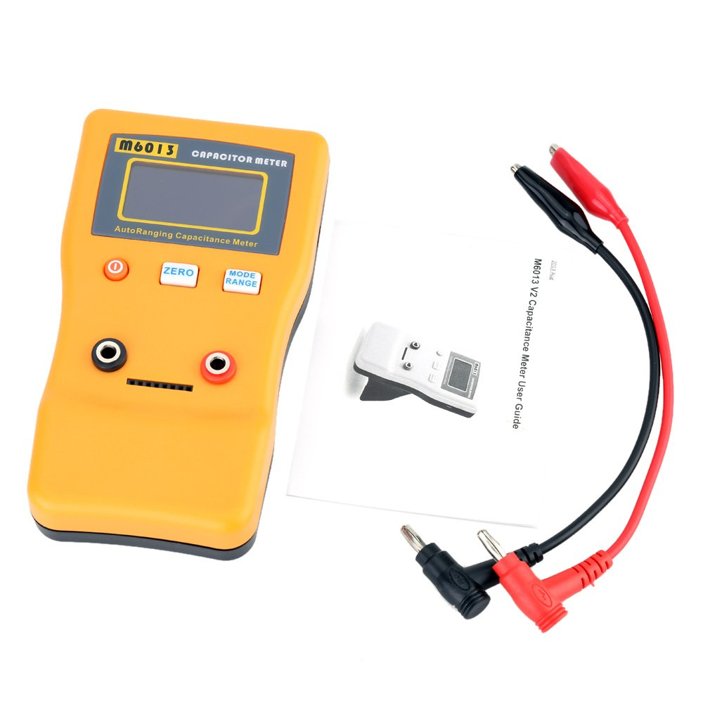 Circuit Tester Kkmoon M6013 Digital High Precision Capacitor Meter Measuring Resistance In And Out Professional Capacitance
