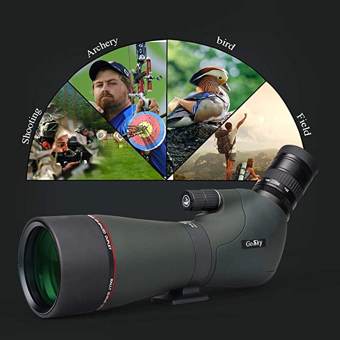 Gosky 20 60x80 Dual Focusing Spektiv Wasserdichtes Kamera